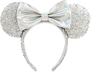 Disney Minnie Mouse Sequined Ear Magic Mirror Metallic