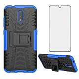 Asuwish Phone Case for Nokia 2.3 6.2 inch with Tempered