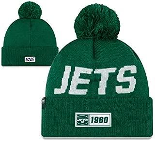 New Err NFL Knit Sideline Sport Knit Winter Beanie Pom Hat Cap
