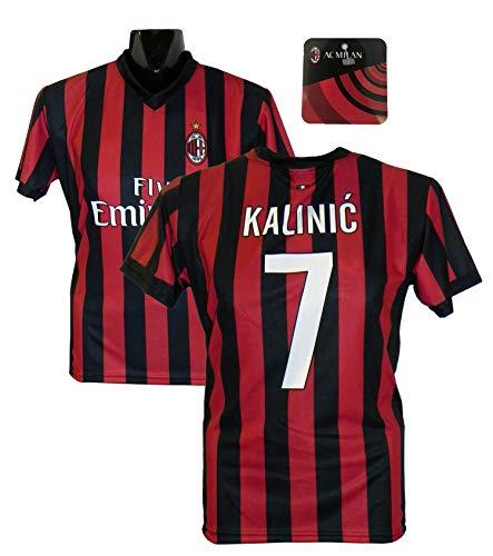 Maglia Replica Ufficiale KALINIC Milan 2017/2018 - Prodotto Ufficiale (L)