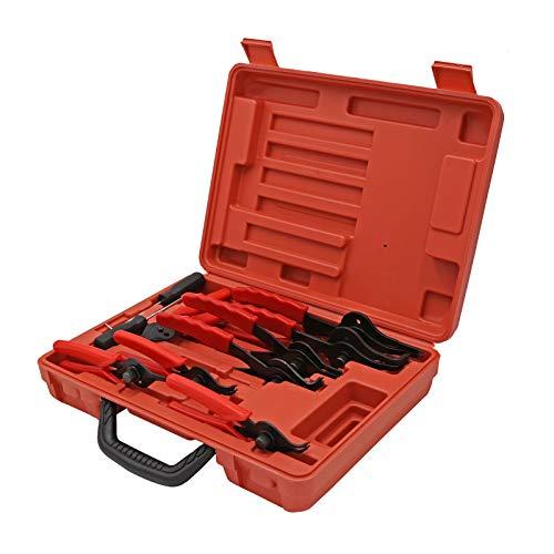 Sprengring Zange Seegeringzange 11teilig Sicherungszangen Set Sicherungszange Außen Innen