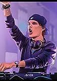 SYKKYS Legendary DJ Avicii Poster Leinwand Malerei Wand