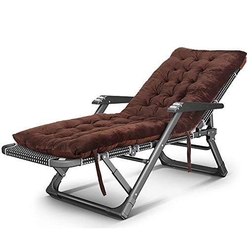 Cama plegable |Relax sillón |El almuerzo rotura silla cómoda silla de oficina Inicio Silla de jardín con respaldo ocio - Masaje apoyabrazos - 15 de ajuste de la velocidad - de carga de 300 kg (color: