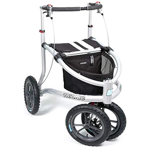 Rollator Veloped Sport 14er L schwarz/weiß/weiß
