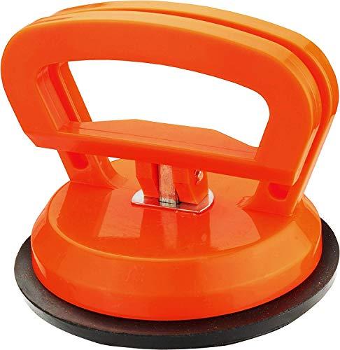 CON:P zuignap - 15 kg draagkracht - comfortabele bediening met één hand - met vastzethendel - Voor het vervoer van onhandige en zware voorwerpen/vacuümkrik/glasheffer/rubberen zuignap / B29640