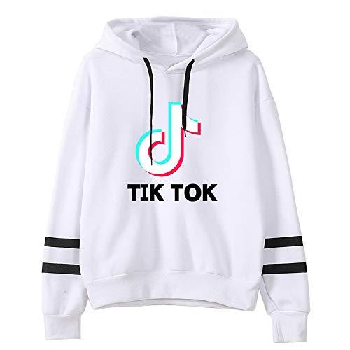 Long Sleeve Hoodie TIK TOK Pullover Sweatshirt Jumper