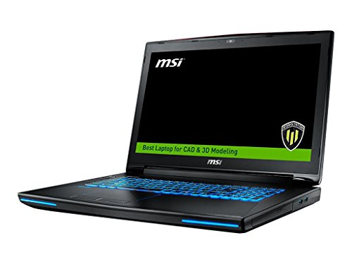 "MSI WT72 6QL-400US;9S7-178212-400 17.3"" 4K Display Laptop 6th Generation Quadro M4000M 