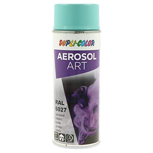 DUPLI-COLOR 733079 AEROSOL ART RAL 6027 lichtgrün glänzend 400 ml