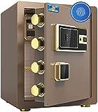 GBYYMX casseforti per la casa Cassaforte digitale, armadi di grandi dimensioni Cassetta di sicurezza, built-in parete di allarme, i file for la casa notebook gioielli dell'hotel dell'ufficio 38 * 32 *