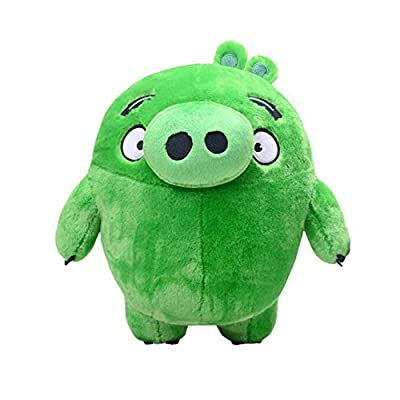 Have Love Kids Toys Cartoon Characters Catcher Toys Angry Pigs Plush Dolls Green