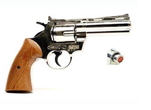 Revolver giocattolo pistola a salve Magnum nikel scacciacani a salve calibro 380 a salve