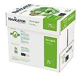 Navigator Eco-Logical Carta Premium per ufficio, Formato A4, 75 gr, Confezione da 5 risme ...