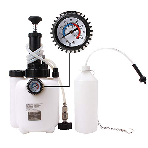 Draagbaar gereedschap voor het vervangen van remvloeistof voor thuisgebruik, navuldispenser voor automatische remvloeistof autowerkplaats reparatiegereedschap