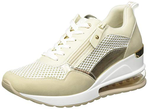 XTI 42626, Zapatillas Mujer, Beige, 38 EU