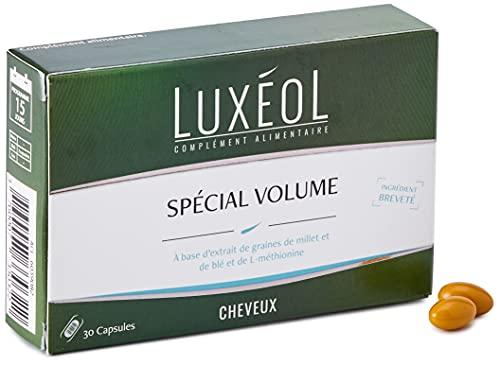 Luxéol – Spécial Volume – Volume des Cheveux – Ingrédient Breveté – Complément Alimentaire – 30 Capsules
