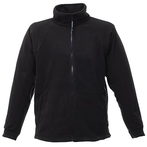 Regatta Herren Thor III Fleece-Jacke, Anti-Pilling (5XL) (Schwarz)