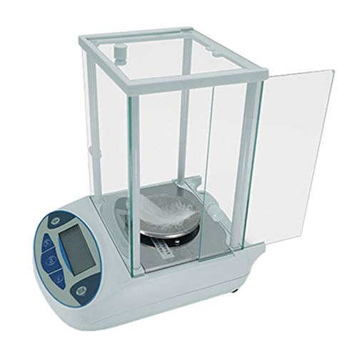 CHICTI 0.001g High Precision Scale 100g 200g 300g 500g Analytical Balance Digital Lab Scale With Windshield Milligram Scale For Laboratory Pharmacy Dining (Size : 500g/0.001g)