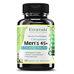 Promotes overall health: our men's 1-daily multivitamin contains an advanced multivitamin complex that may help increase energy and stamina levels, promote prostate health, enhance nervous and immune systems, improve vision, promote sexual health, an...