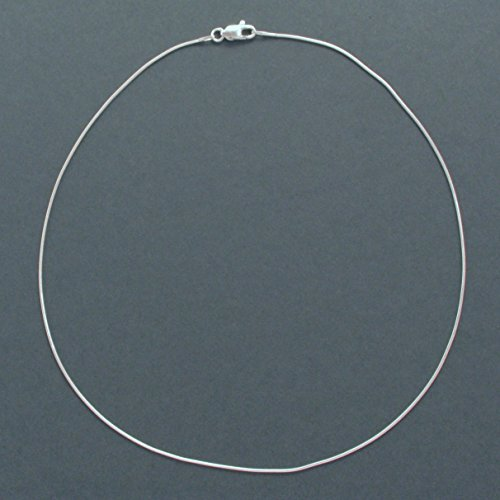zarte Silberkette Länge 42 cm