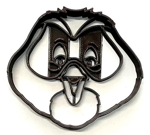 OWL FACE DETAILED WINNIE THE POOH CARTOON CHARACTER COOKIE CUTTER 3D PRINTED MADE IN USA PR4199