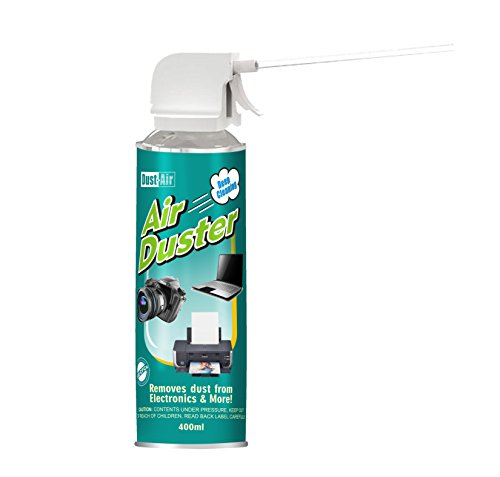 Dust-Air 400ml Compressed Air Duster Can For PC Laptop Camera CFC Free x1