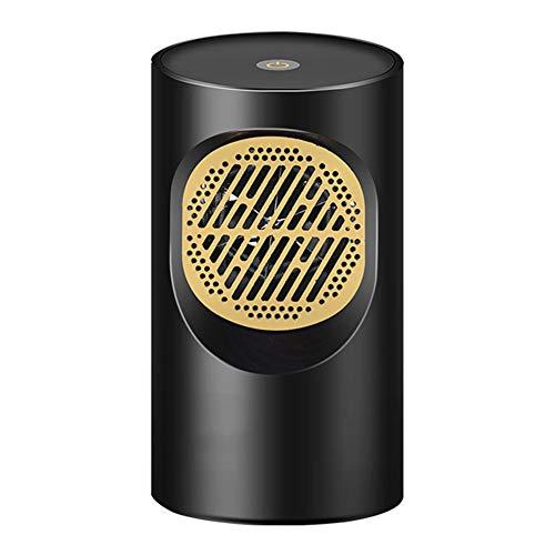 Massage-AED Calefactor Portátil Eléctrico Elemento Ventilador de Aire Caliente con Viento Calor y Natural Configuraciones de Temperatura para Hogar y Oficina