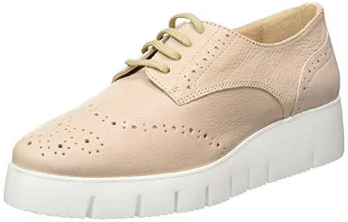 Unisa Ferraz_sty, Zapatos de Cordones Derby para Mujer, Rosa (Pale Pale), 39 EU