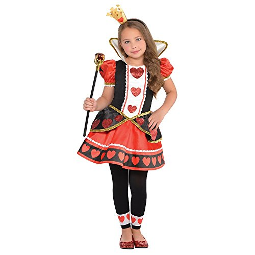 Queen of Hearts Child Costume – X-Large
