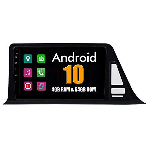 Autoradio Sistema Android 9 Pollici Autoradio per Toyota CHR CH-R C HR 2016 2017 2018 con Navigazione GPS Radio Stereo Bluetooth Mirror Link Full Touch Screen