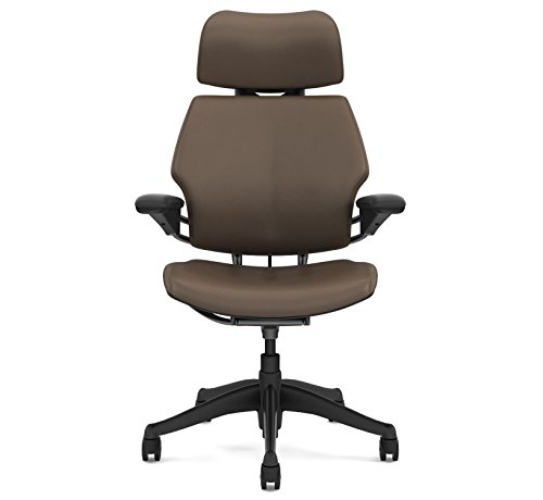 Humanscale Freedom Freedom Chair F213 Advanced Duron Arms Graphite Frame Bizon Miso Leather F213GQ429N-S - Soft Hard Floor Casters
