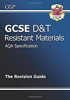 GCSE Design & Technology Resistant Materials AQA Revision Guide by CGP Books (2010-09-29)