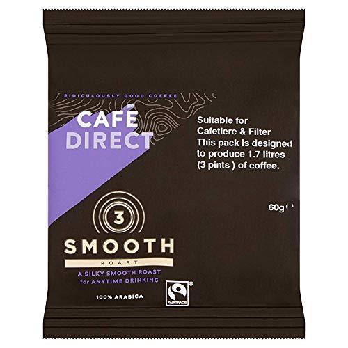 Cafe Direct Medium Roast Filter Coffee 60g Sachet Ref FCR0008 Pack 45 107329