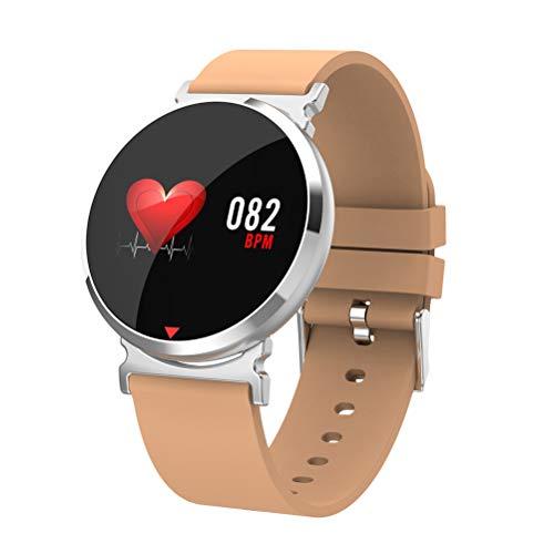 Reloj inteligente Smartwatch, pantalla dinámica 3D Curvado impermeable Rastreador deportivo Reloj deportivo Pasómetro Detección del sueño Pulsera de detección de ritmo cardíaco