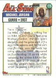 1992-93 Topps #115 Michael Jordan AS