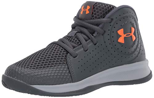 Under Armour Unisex-Youth Pre School 2019 Basketball Shoe, Pitch Gray (101)/Mod Gray, 2
