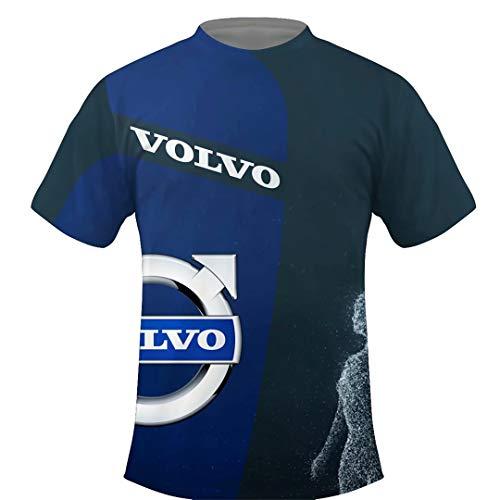 Round Neck Volvo Design T-Shirt Summer Shirt S-5XL