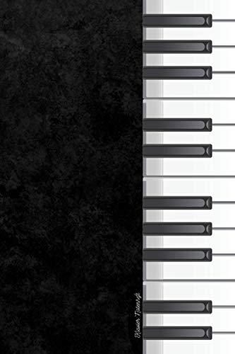 Klavier Notenheft: Notizbuch mit leeren Notenlinien zum Schreiben Ihrer Lieblingskompositionen | 15,2 x 22,9 cm