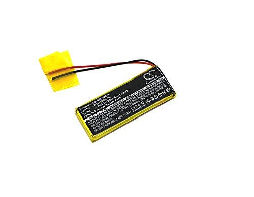 TECHTEK batería sustituye WW452050PL, WW452050PL_C Compatible con [Cardo] Q1, Q3, [Scala Rider] Q3, Rider FM, Rider Solo