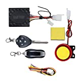 AllExtreme Anti Theft Motorcycle Security Alarm System with 2 Remotes for Bike Scooter