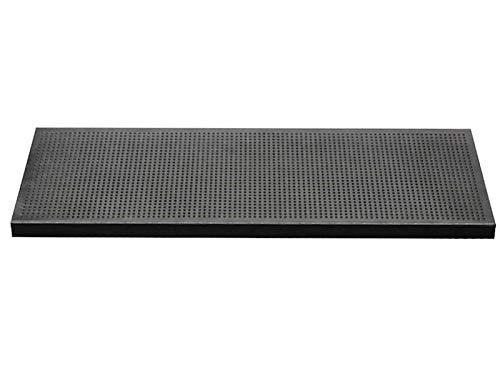 Euromat Treppenmatte Stufenmatten 25x75 cm Gummi Ringgummimatte Fußmatte Matte Rutschhemmend Pin