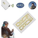 QSs- Pegatina de Mejora de señal de teléfono Celular, Pegatina de Mejora de señal de teléfono Celular, Amplificador de señal de Antena de teléfono Celular para montañismo, Camping