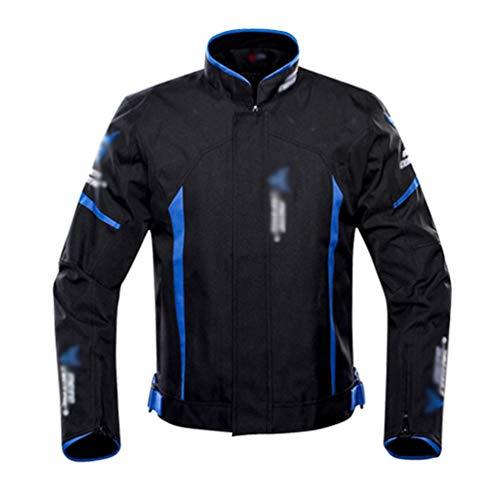 YuanDiann Trajes de Moto con Proteccion, 4 Estaciones Impermeable Chaqueta y Pantalon...