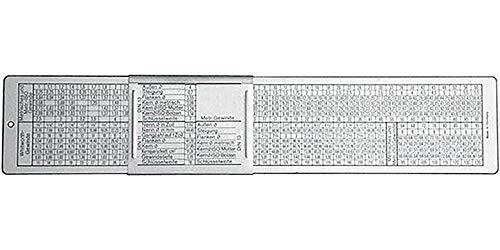 DIN-Gewindeschieber 260x50mm FORMAT