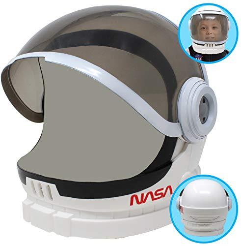 Casco de Astronauta con Visera Móvil Juego de Juguete de Simulación para niños.