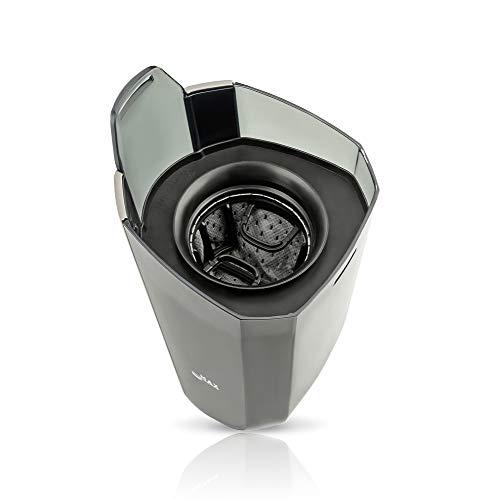 Dunlop V8260 2-in-1-Staubsauger ? 14,8V beutelloser Akku Handstaubsauger & Stabstaubsauger - Leistungsstarke, rotierende Bürste mit LED-Beleuchtung, Zusammenklappbar ? Wandhalterung inkl. - 6