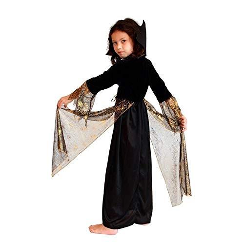 LXJ Kids Meisjes Carnaval Halloween Spin Meisje Heks Kostuums Kinderen Masquerade Partij Cosplay Kleding Fancy Jurk Kostuum