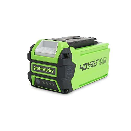 Photo of Greenworks Battery G40B2 2nd Generation (Li-Ion 40V 2 Ah Fast Charging System Without Self-discharge Suitable for All Devices and Batteries of the 40V Greenworks Tools Series)