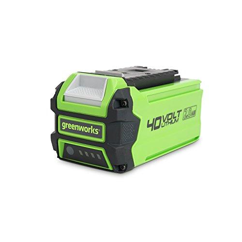 Greenworks Batería G40B2 2ª generación (sistema de carga rápida de Li-Ion 40V 2...