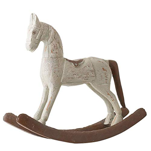Decoration - Large Traditional Rocking Horse Ornament Decoration Hallmark Keepsake Ornament Dated Pony for Rocking Horse Tableware