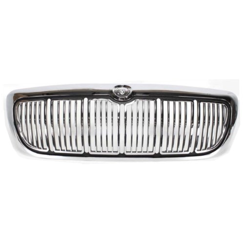Keystone F8Mz8200Aa Mercury Grand Marquis Replacement Front Grille Chrome Black Fo1200353